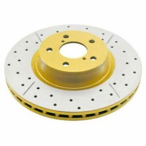 DBA T2 Brake Rotor X Gold Cross-Drilled DBA016X FOR COMMODORE VL VB VN VK  REAR