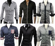 Cotton Regular Long Sleeve Casual Shirts & Tops for Men