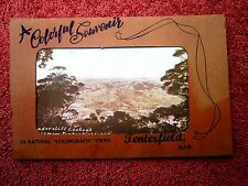 TENTERFIELD  NEW  SOUTH  WALES COLOUR  VIEW  FOLDER     [373]