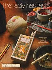 1972 vintage tobacco ad  EVE Cigarettes Flower child ART 091115