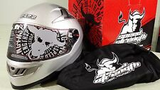 Speed and Strength Helmet SS1300 Silver XL extra Large 876886