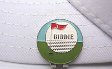 Birdie Golf Ball Marker - W/Bonus Magnetic Hat Clip