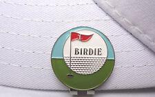 Birdie Golf Ball Marker - W/Bonus Magnetic Hat Clip