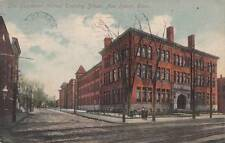 Antique POSTCARD c1912 Boardman Manual Training School NEW HAVEN, CT 16540