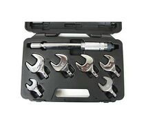 7 Piece Refrigeration Changeable Spanner Torque Wrench Set Kit - Click Type Han