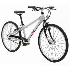 BYK E-540 3I Kids Mountain Road Bike MTR Suits Age 7-11 Silver Alloy