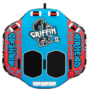 Airhead Griffin 2-Rider Towable Tube Blue/Red