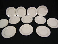 Lot of 12 Noritake Sorrento Bread & Butter Plates Lace Design VGC
