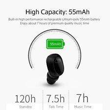 Invisible Mini Stereo Wireless Bluetooth In-Ear Headset Earphone Earbud Earpiece