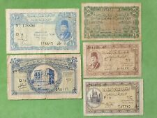 Banknotes from Egypt lot 1940's