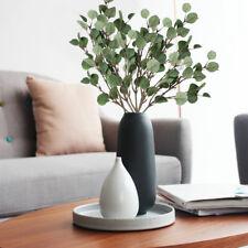 Artificial Fake Leaf Eucalyptus Green Plant Silk Flowers Home Wedding Decor