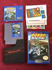 Turbo Racing Used NES Nintendo Game Complete with Box and Manual Excellent