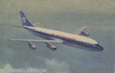 Postcard 1090 - Aircraft/Aviation KLM Douglas DC-8 Intercontinental Jet