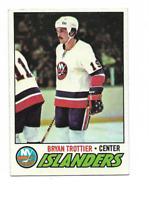 1977-78 Topps #105 Bryan Trottier New York Islanders