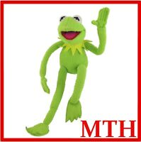 """Kermit The Frog 18"""" Poseable Plush Toy Doll Jim Henson Muppets Applause Vintage"""