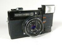 Old Vintage Konica C35 EF 35mm Film Camera 38mm F/2.8 lens For Parts 1977