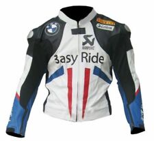 BMW 3ASY RIDER MOTORBIKE  LEATHER JACKET CE APPROVED