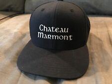 b6cfe802 VINTAGE CHATEAU MARMONT LA HOTEL BASEBALL CAP ADJUSTABLE SNAP BACK T-SHIRT