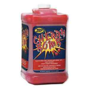 Cherry Bomb Hand Cleaner Soap Washing Cleaning Grease Paint Odor Bathroom 1 Gal