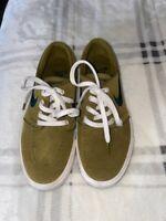 Nike Womens SB Zoom Air Stefan Janoski Skate Shoes Green AH4233-300 Suede 6