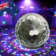 LED Disco Stage Light Lighting Party DJ Crystal Magic Ball Show GHSLI1339+EPLUG