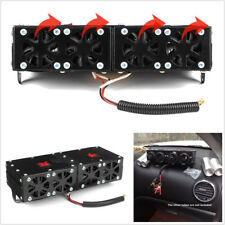 12V Universal 4-Hole 150W/300W Adjustable Car Heater Fan Defroster Double Switch