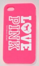 iPhone 4 4S Case Cover Victorias Secret Love Pink Rubber Authentic Pink New