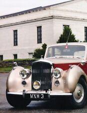 1952 Bentley Mark VI Original Car Review Report Print Article J906