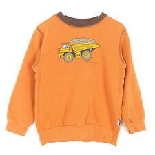 JAKO-O Sweatshirt LKW Sandkipper Orange Gr. 110 116