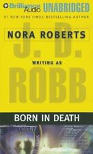 BORN IN DEATH unabridged audio CD by J.D. ROBB / NORA ROBERTS  Brand New 11 hrs