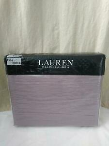 Ralph Lauren Spencer Matelasse Full/queen Coverlet  Deep Lavender