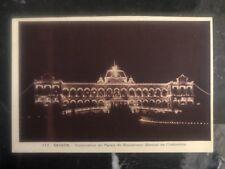 Mint Saigon Vietnam Real Picture Postcard Government Palace Illumination