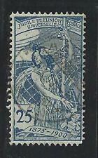 1900 Switzerland Scott #100 - 25c Universal Postal Union 25th Anniversary - Used
