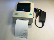 Zebra Eltron LP2844 Thermal Barcode Label Printer with power supply and lables.