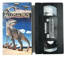 Allosaurus - A Walking With Dinosaurs Special - Vhs - Bbc Presents