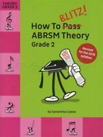 How To Blitz ABRSM Theory Grade 2 Revised Sheet Music Book Tests Exams 2018