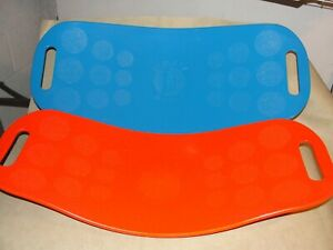 As Seen on TV- Simply Fit Twist Exercise Board Set of 2 Blue and Orange