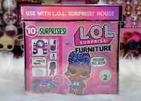 LOL Surprise Furniture BACKSTAGE Set Independent Queen Doll Series 2 New L.O.L.