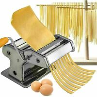 HOME KITCHEN STAINLESS STEEL TAGLIATELLE LASAGNA ITALIAN PASTA MAKER MACHINE