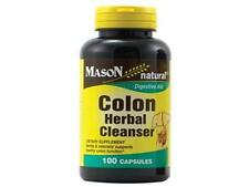 100 capsules COLON HERBAL CLEANSER NATURAL DETOX ALOE VERA ALFALFA