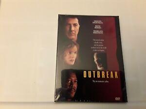 Outbreak (DVD, Region 1, Dustin Hoffman, Morgan Freeman) New Sealed Freepost