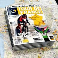 2018 TOUR DE FRANCE Official Race Guide + Giant Map Poster Australian Edition