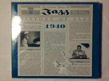 CD History of jazz 1940 BILLIE HOLIDAY COUNT BASIE GLENN MILLER SIGILLATO SEALED
