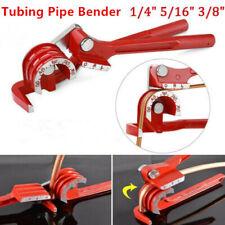 "Tubing Pipe Bender 1/4"" 5/16"" 3/8"" Tube Aluminum Copper Steel Fuel Brake Line oz"