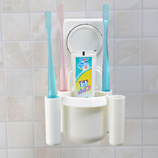 Toothbrush Holder Suction Cups Bathroom Wall Tooth Brush Wall Sticky Holders
