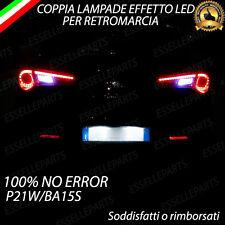 COPPIA LUCI RETROMARCIA EFFETTO LED P21W BA15S NO ERROR PER ALFA ROMEO GIULIETTA