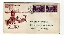 Canada 1949 Halifax #283 FDC H. Jacobi D cachet addressed official FDC CV $3