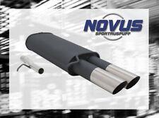 NOVUS Sportauspuff Gruppe N ESD 2x 76mm MS-Design für VW Passat 3B / 3BG