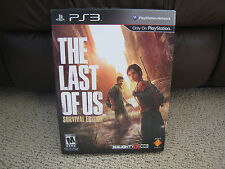 Sony PlayStation 3 (PS3) The Last Of Us Survival Edition New Sealed