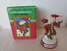Midwest Cannon Falls Mary Engelbreit Resin Good Cheer Santa Claus Figurine 80341